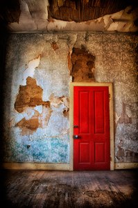 """The Way Through The Door Leads Home""  © Sharon Brown Christopher"