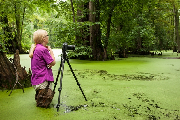 renee_in_swamp