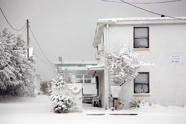 """Snow Storm 2010"" © Preston Ganaway"