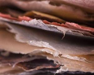"""Pondering Paper"" © Sue Henry"