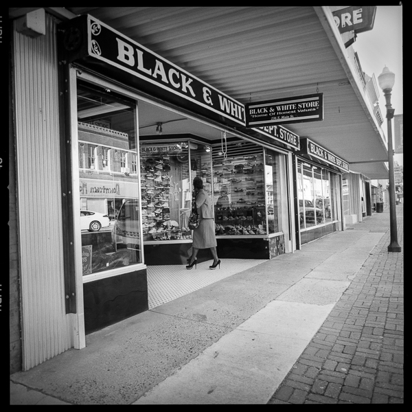 The Black and White Dept Store is still doing business in downtown Yazoo.